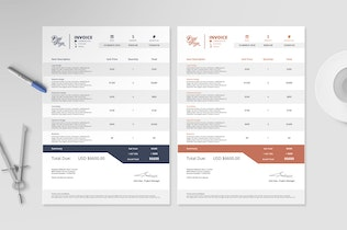 Thumbnail for Invoice Template I