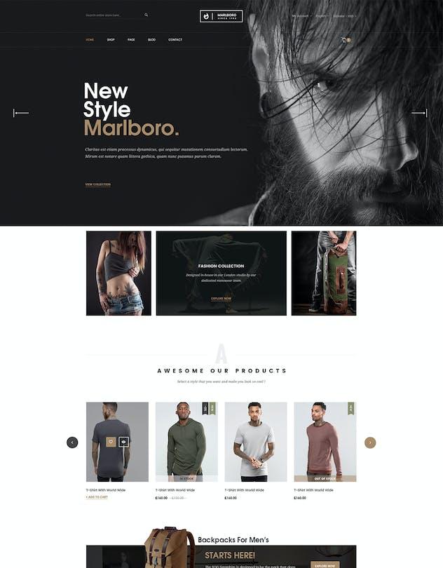 Marlboro- Multipurpose Responsive Prestashop Theme - product preview 3