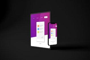 Thumbnail for Dark iPhone XS & iPad Pro