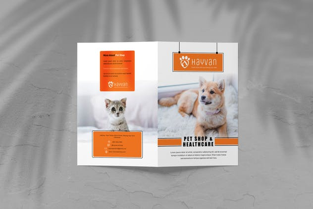 Pet Shop - Petcare Bifold Brochure