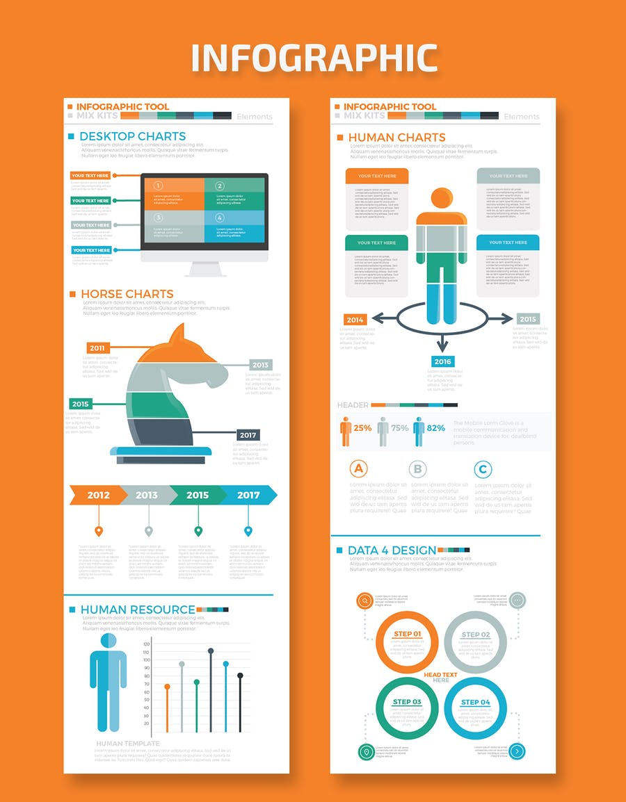 Business Infographics Elements - product preview 3