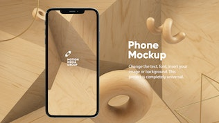 Thumbnail for 10 Light Phone Mockups