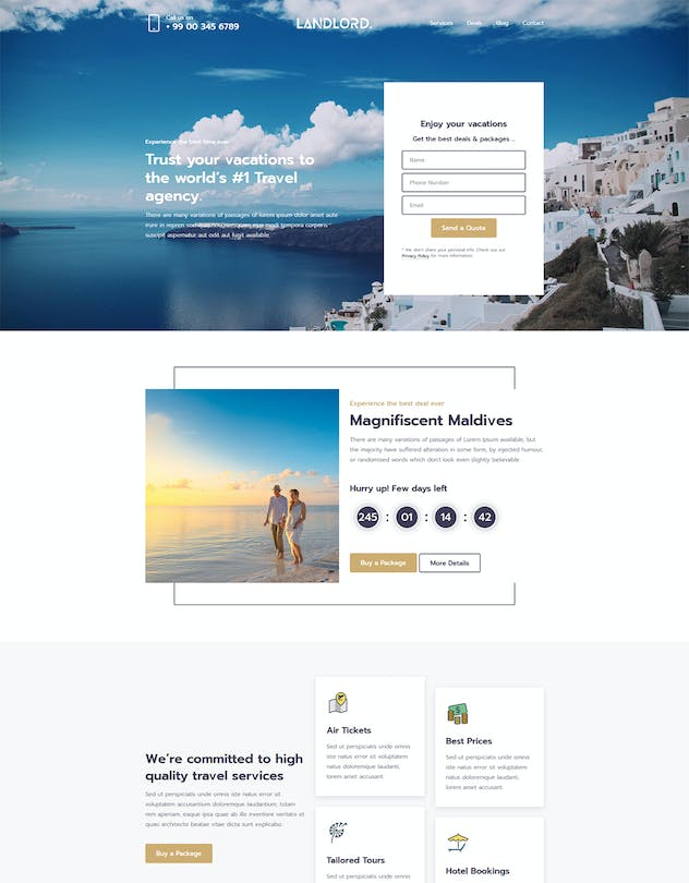Landlord - Landing Page Templates - product preview 6