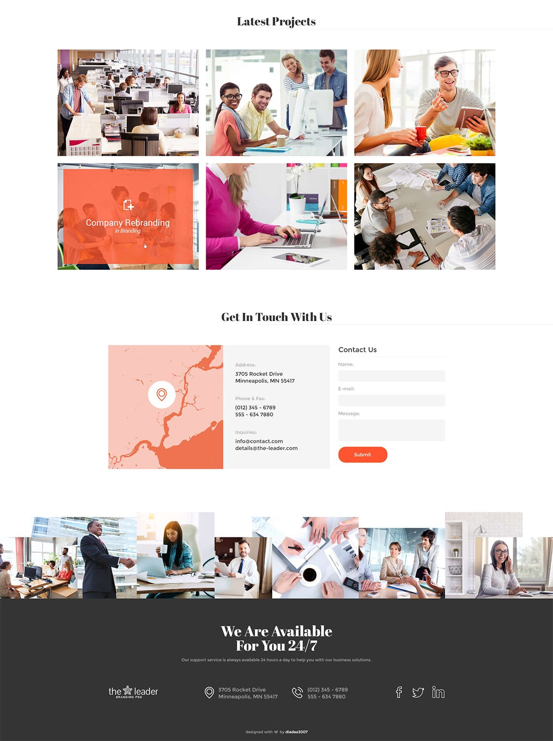 The Leader - Creative Business Muse Template
