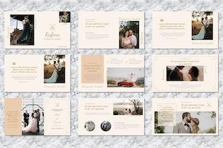 Rafara  - Wedding Powerpoint Templates