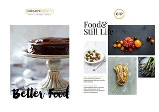 Thumbnail for Food Lightroom Presets