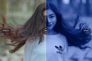 Thumbnail for Duotone Photoshop Actions Vol. 2