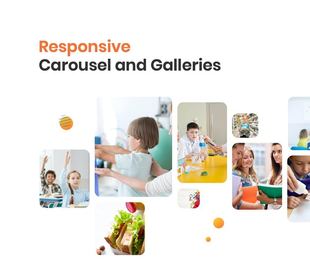 School Website Template - product preview 3