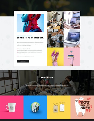 Thumbnail for Derwati - Trendy & Creative Portfolio Theme