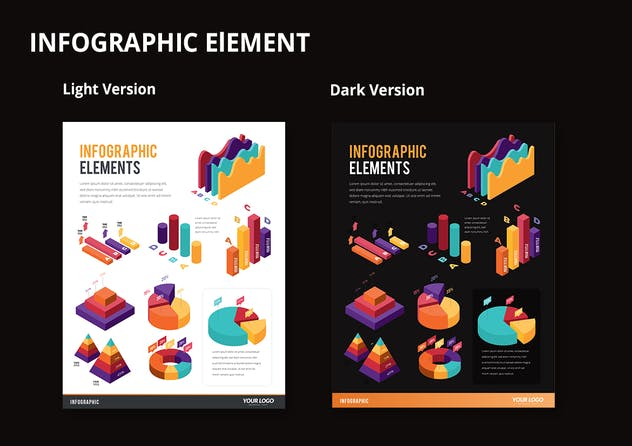 Infographic Examples for Designer V.45 - product preview 2