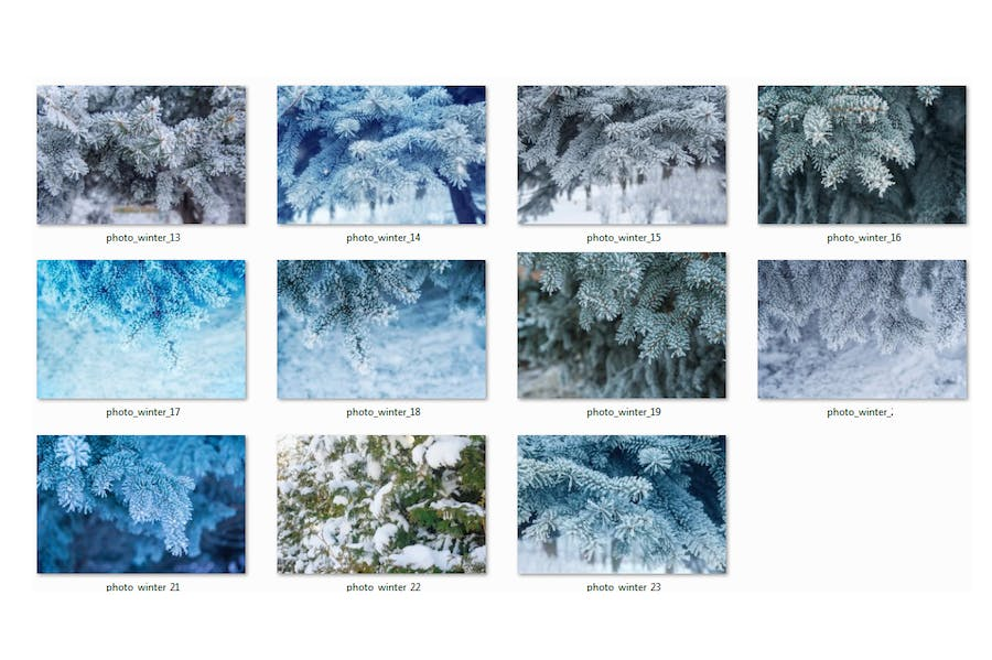 Winter Photo Pack - product preview 3