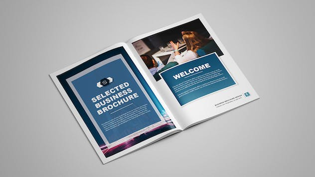 Selected - Business Brochure 12 pages - product preview 1