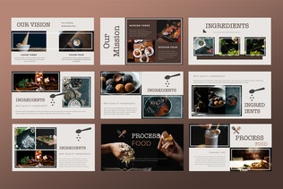 Thumbnail for Cafe & Resto - Food Keynote Presentation