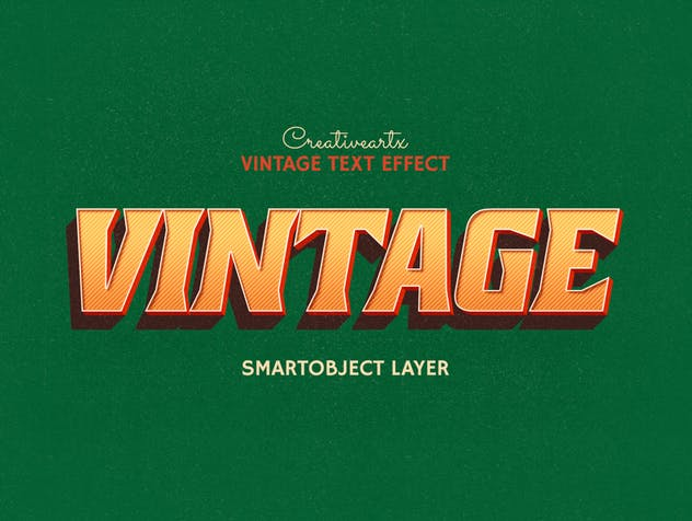 Vintage Retro Text Effects - product preview 6