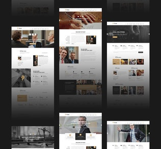 Thumbnail for Trust - Lawyer & Attorney Business HTML Template