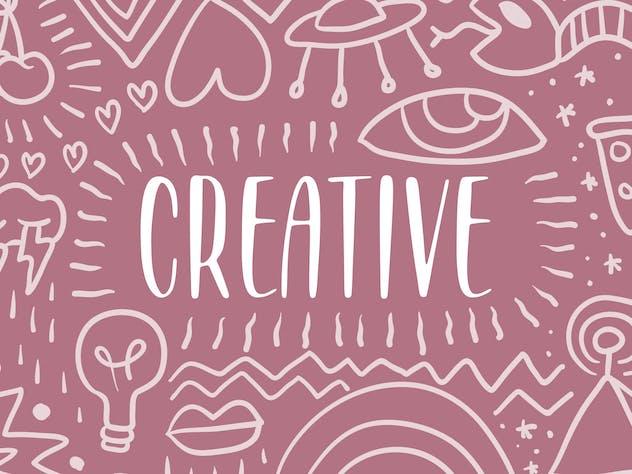 Grovelane Brush Font YH - product preview 2