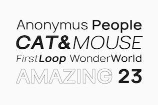 Thumbnail for TYROS Pro - Modern Geometric Sans-Serif Typeface