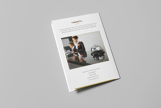 Thumbnail for Brochure – Hotel for Wedding Bi-Fold