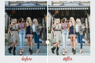 Thumbnail for Bright & Airy   Lightroom Preset