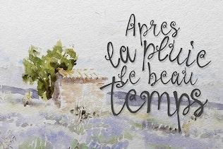 Thumbnail for La Provence Font