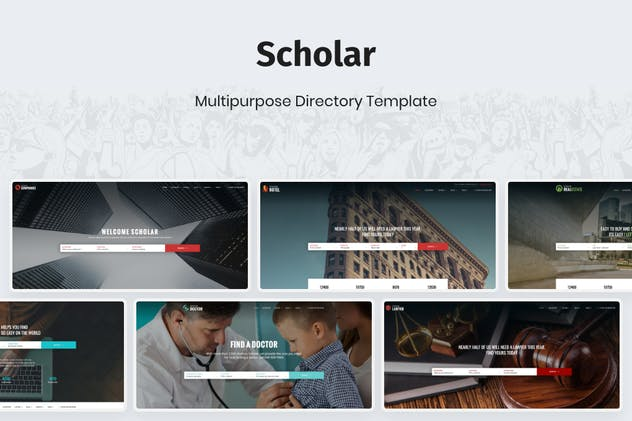 Scholar - Multipurpose Directory Template - product preview 2