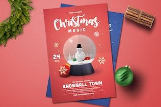 Thumbnail for Christmas Globe Flyer