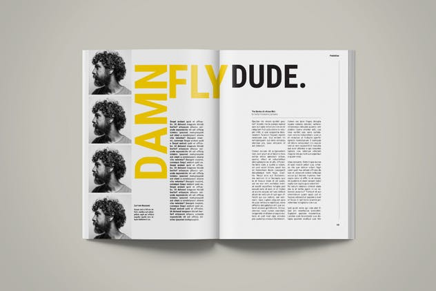 Magazine Template | Petrichor - product preview 6