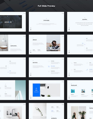 Thumbnail for Aerochord - Minimal & Business Template (KEY)