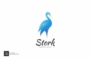 Thumbnail for Stork - Logo Template