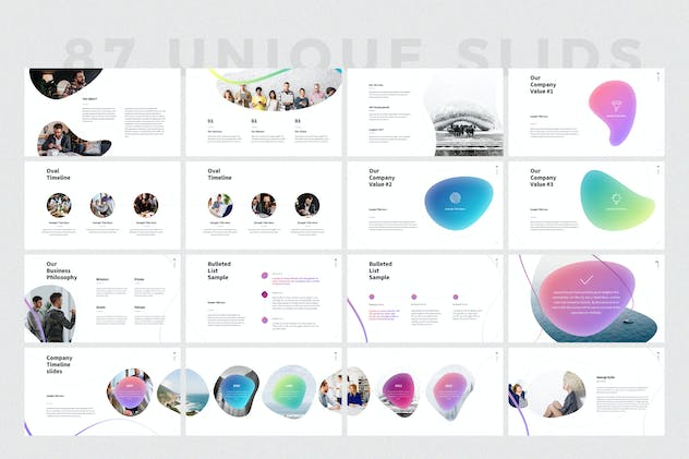 SHAPER Powerpoint Template - product preview 2