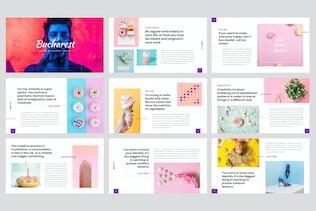 Thumbnail for Bucharest - Creative PowerPoint Template