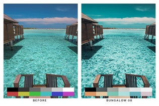 Thumbnail for 50 Bora Bora Lightroom Presets and LUTs