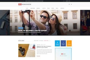 Thumbnail for Pro Newspaper - Multipurpose News PSD