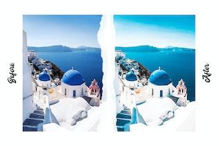 Thumbnail for Santorini Lightroom Presets