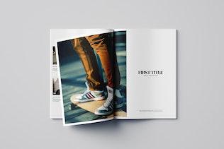 Thumbnail for Minimal Photography Portfolio Magazine
