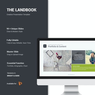Thumbnail for Landbook Business Template