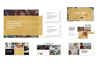 Thumbnail for Product Creative - Keynote Template