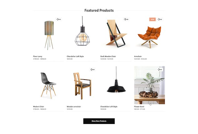 Ozisti | Augmented Reality WooCommerce Theme - product preview 2
