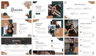 Reason - Fashion Powerpoint Template