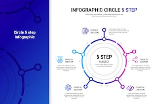 Thumbnail for Circle Step infographic
