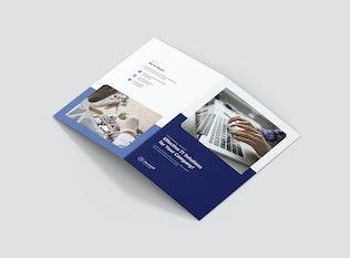 Thumbnail for Brochure – IT Services Bi-Fold