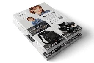 Thumbnail for Spring2018 : Fashion Marketing Flyer