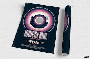 Thumbnail for Indie Fest Flyer Template V4