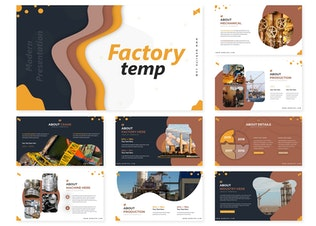Thumbnail for Factory | Google Slides Template