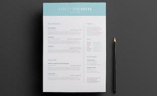 Thumbnail for Minimalist Resume 05