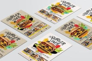 Fast Food dépliant