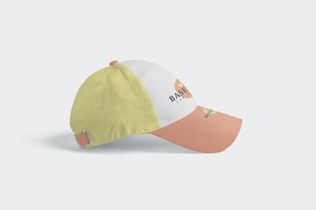 Thumbnail for 4 Baseball Cap Mockups