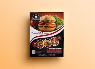 Thumbnail for Restaurant Flyer