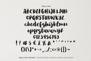 Miniatura para Tipo de letra peculiar