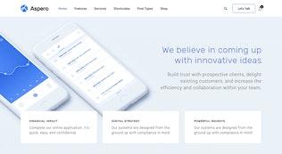 Thumbnail for Aspero - Business WordPress Theme